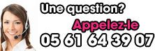Une question ? 05 61 64 39 07
